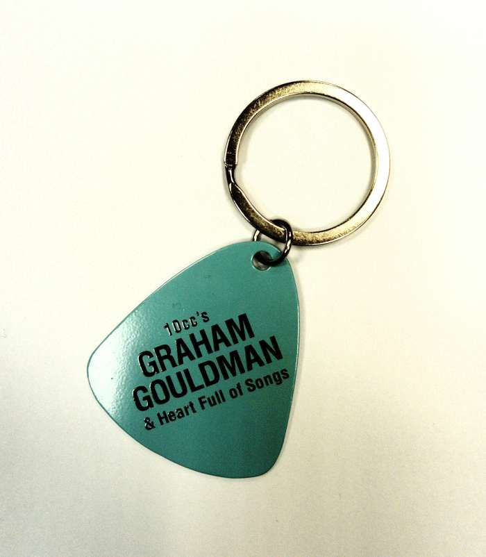 Heart Full Of Songs Keyring - Graham Gouldman