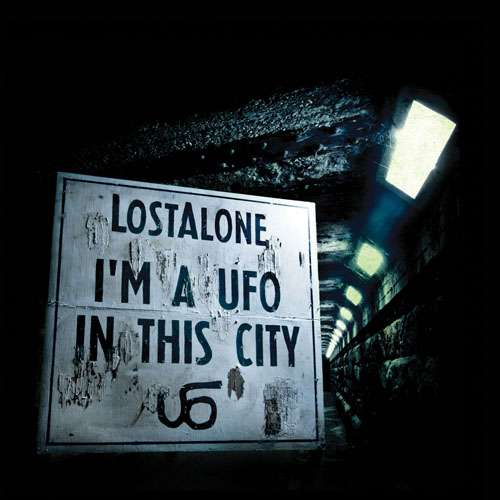 LostAlone -  I'm A UFO In This City CD - Graphite Records