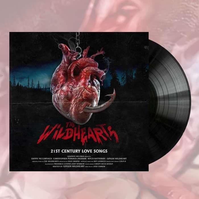 The Wildhearts - '21st Century Love Songs' Black Vinyl - Graphite Records