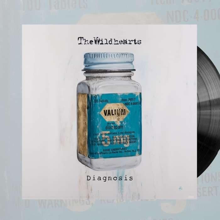 The Wildhearts - 'Diagnosis' 10'' Vinyl - Graphite Records