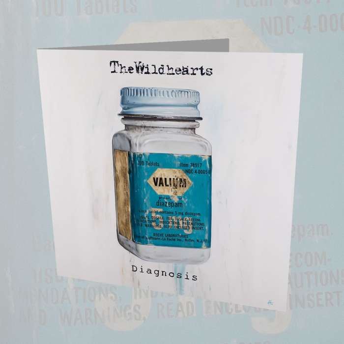 The Wildhearts - 'Diagnosis' CD - Graphite Records