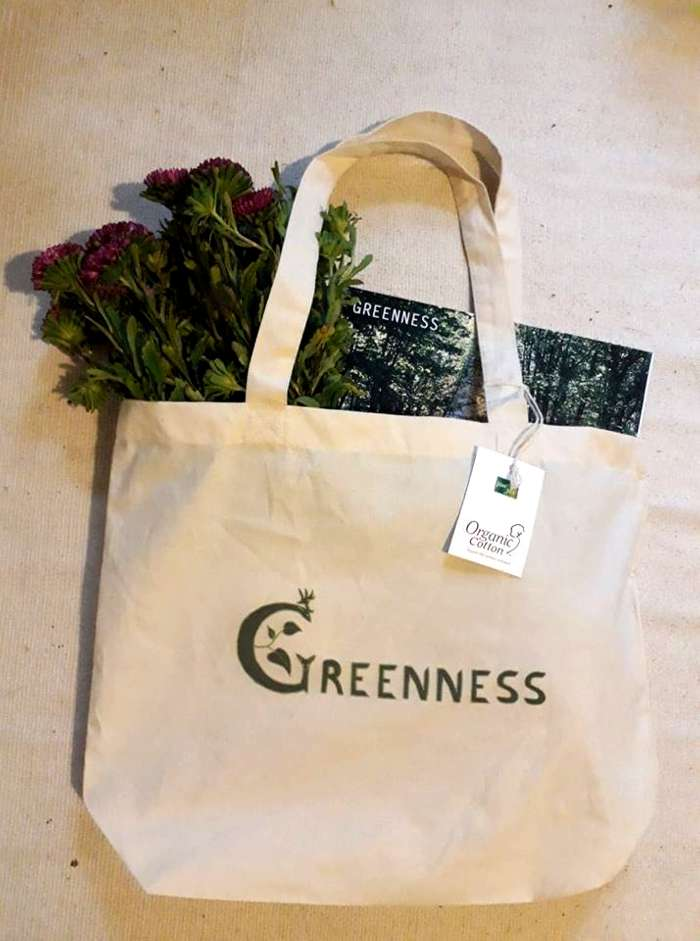 Greenness Tote Bag - Greenness