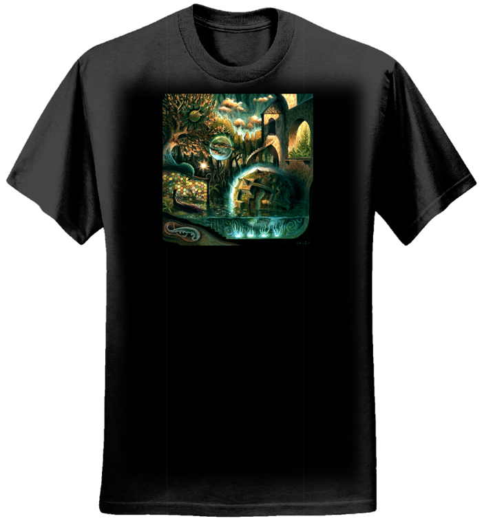 Swimming T-shirt (women) - Greenness