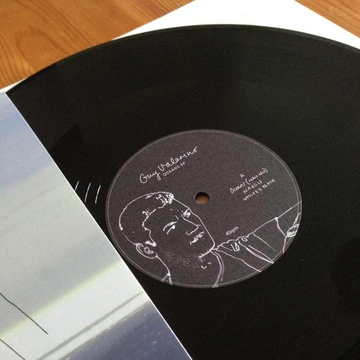 Oceans EP [Vinyl] - signed - Guy Valarino