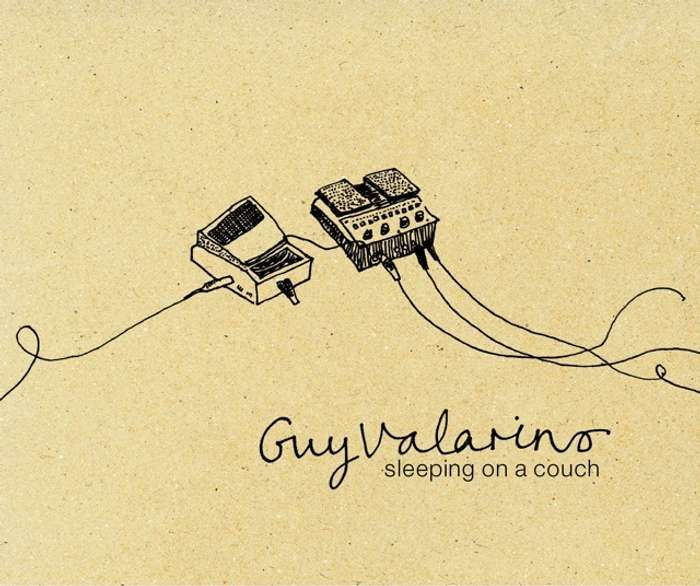 Sleeping on a Couch EP [CD] - Guy Valarino