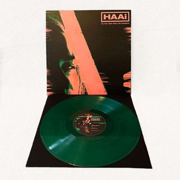 "HAAi - Put Your Head Above The Parakeets Green 12"" LP - HAAi"