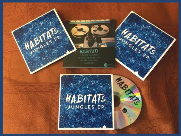 JUNGLES EP - Special Ltd Edition CD - HABITATS