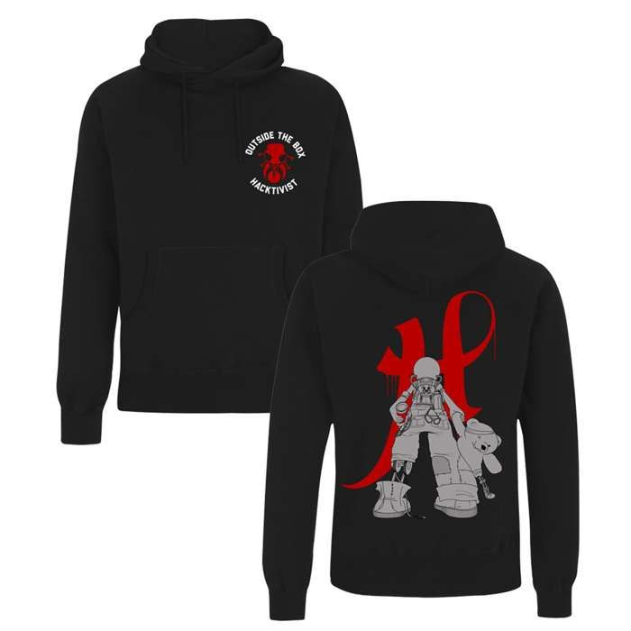 Outside The Box Hoodie - Hacktivist
