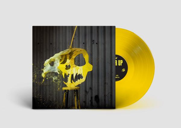 "Cheer Up - Ultra Limited Yellow 10"" Vinyl - Haggard Cat"