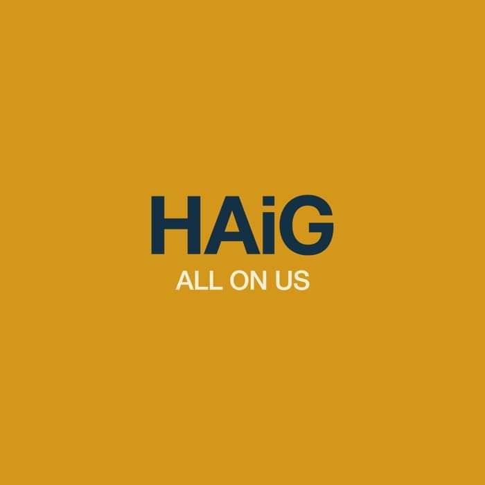 "Pre Order - All on Us 7"" Vinyl - HAiG"