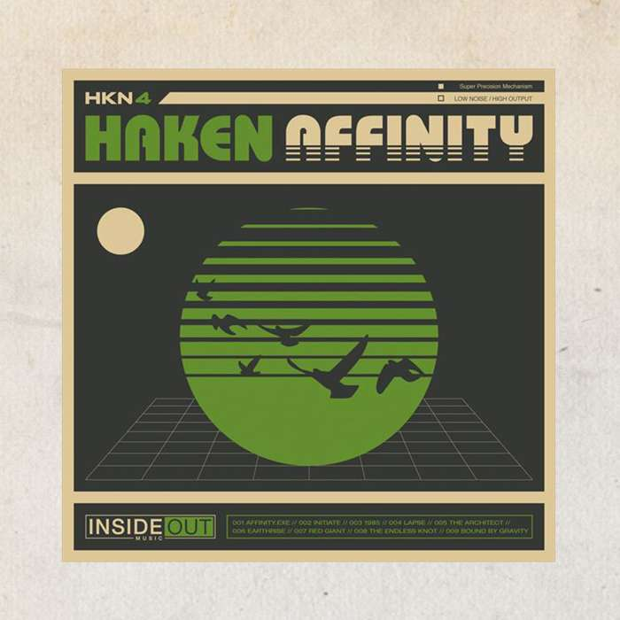 Haken - 'Affinity' CD - Haken