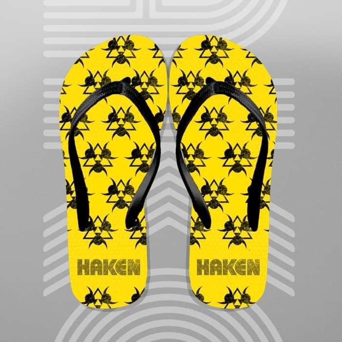 Haken - 'Biofish' Flip Flops - Haken