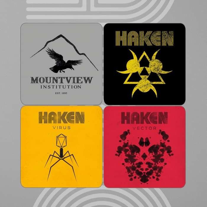 Haken - Coaster Set - Haken