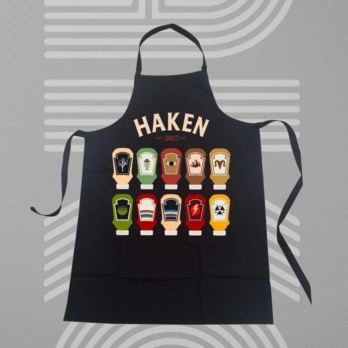 Haken - 'Ketchup' Apron - Haken