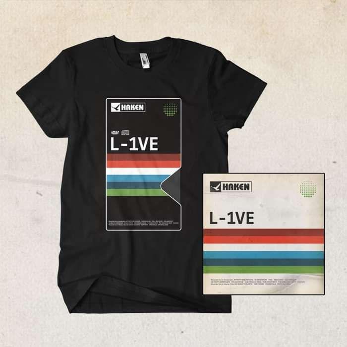 Haken - 'L-1VE' 2CD & 2DVD Plus T-Shirt Bundle - Haken