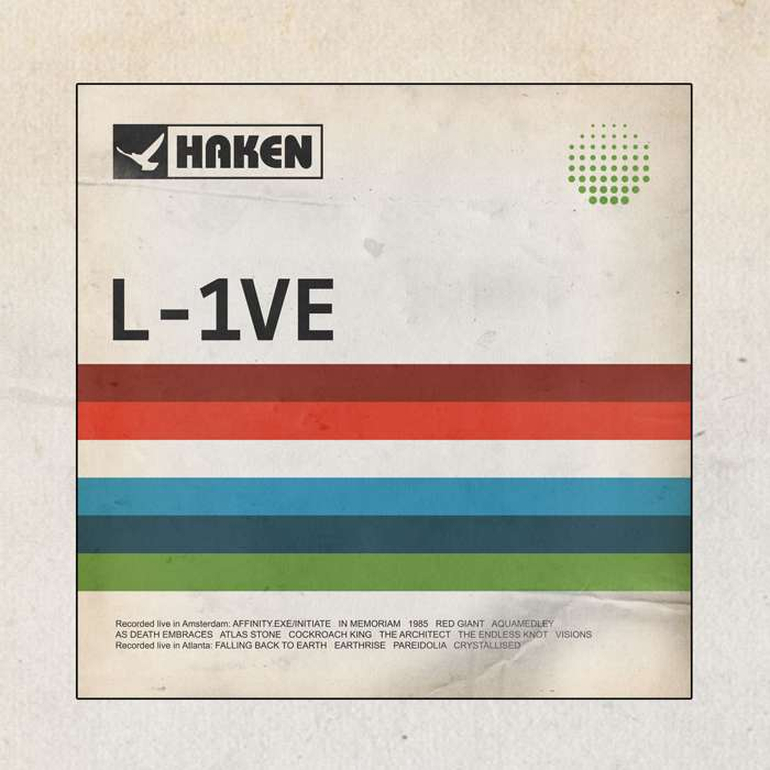 Haken - 'L-1VE' 2CD & 2DVD - Haken
