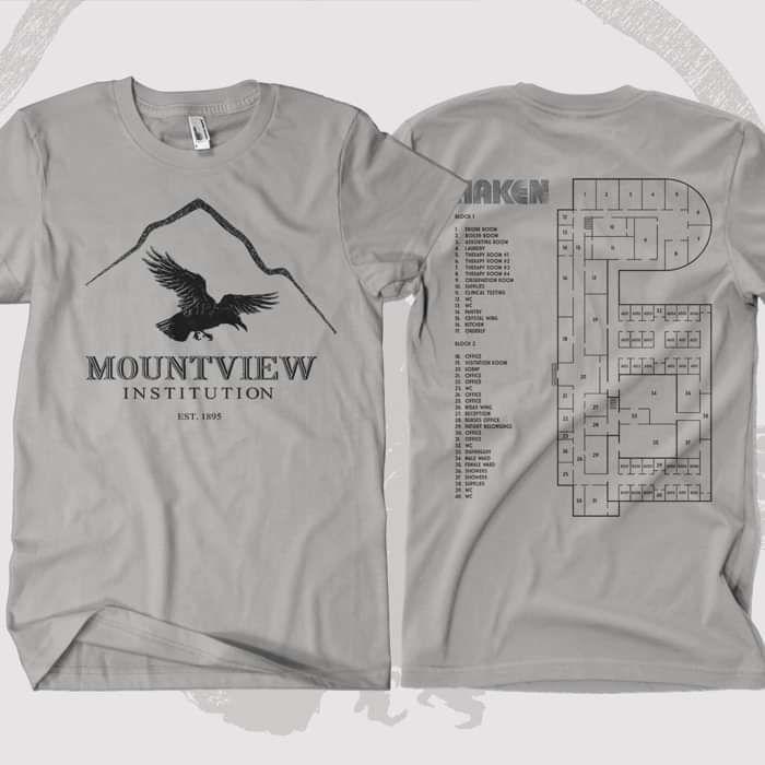 Haken - 'Mountain View' T-Shirt - Haken