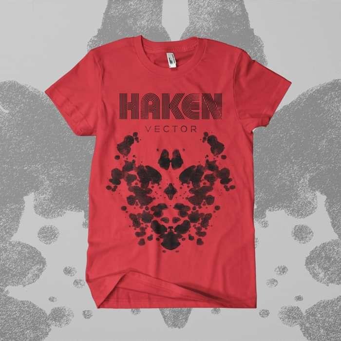 Haken - 'Red Vector' T-Shirt - Haken
