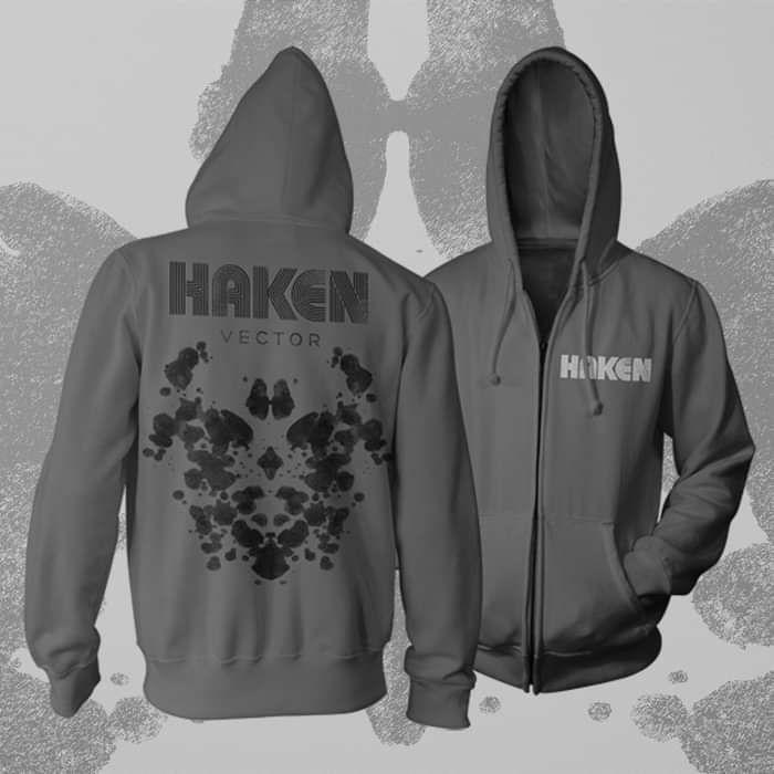 Haken - 'Vector Logo' Zipped Hoody - Haken