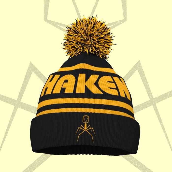 Haken - 'Virus' Bobble Hat - Haken