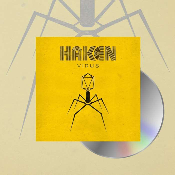 Haken - 'Virus' Jewelcase CD - Haken