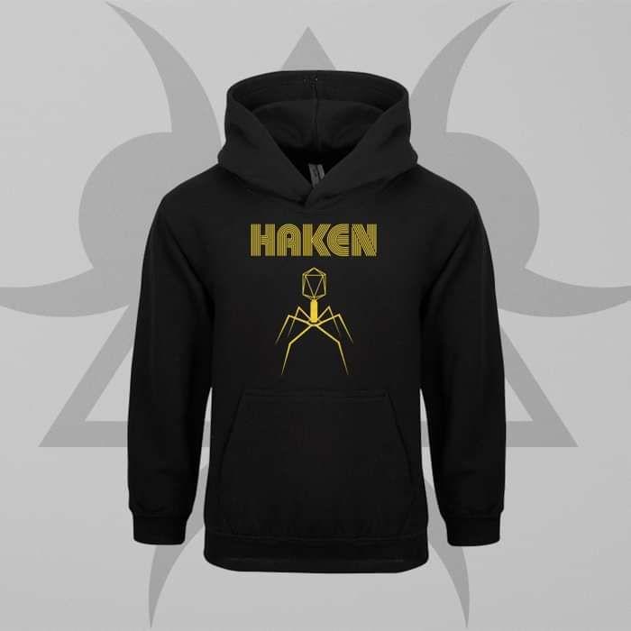 Haken - 'Virus' Kids Pullover Hoodie - Haken