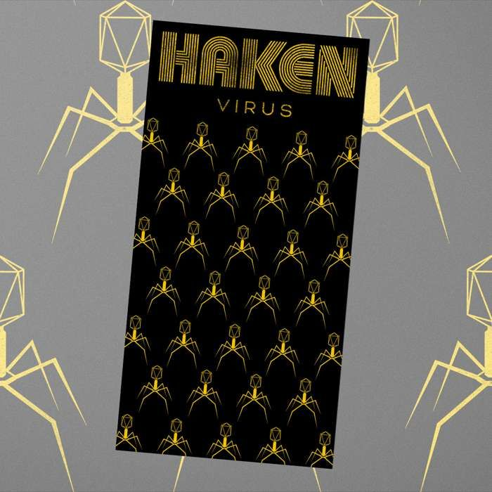 Haken - 'Virus - Second Wave' Snood - Haken