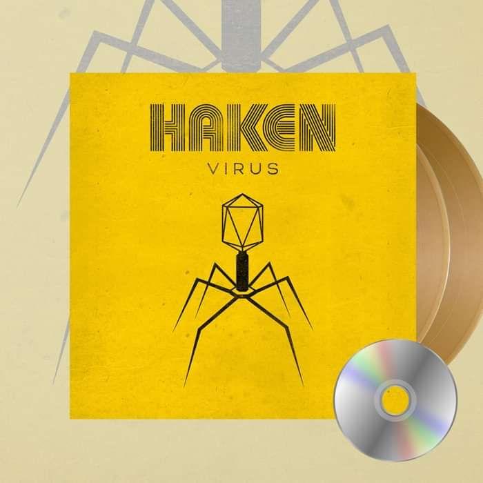 Haken - 'Virus' *EXCLUSIVE* Gold Gatefold 2LP + CD - Haken