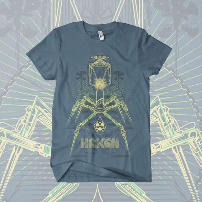 Haken - 'Warning T-Shirt - Haken