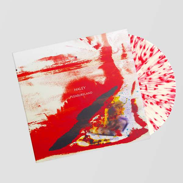 Pleasureland - Red and White Splatter Vinyl - HALEYUSD