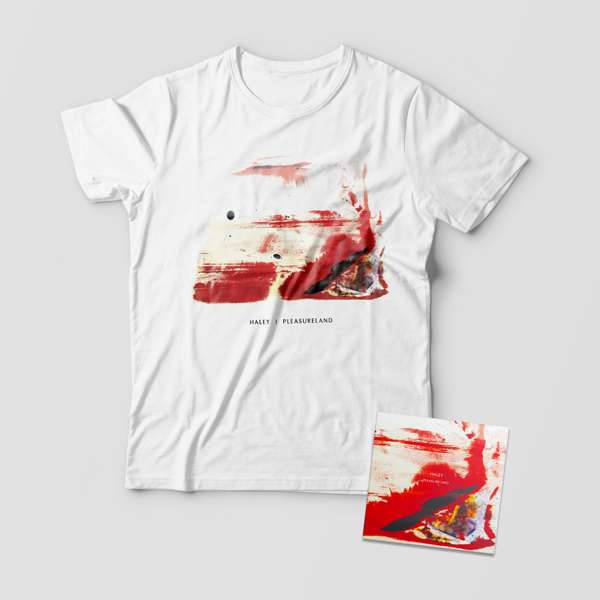 Pleasureland T-shirt and CD - HALEYUSD