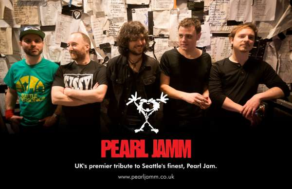 Pearl Jamm : Full Live Set (Evening Show) at Half Moon - Putney, London on  07 Sep 2019