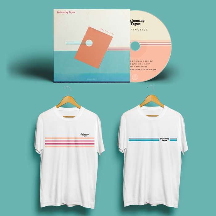 Swimming Tapes - CD + Tee Bundle - Hand In Hive