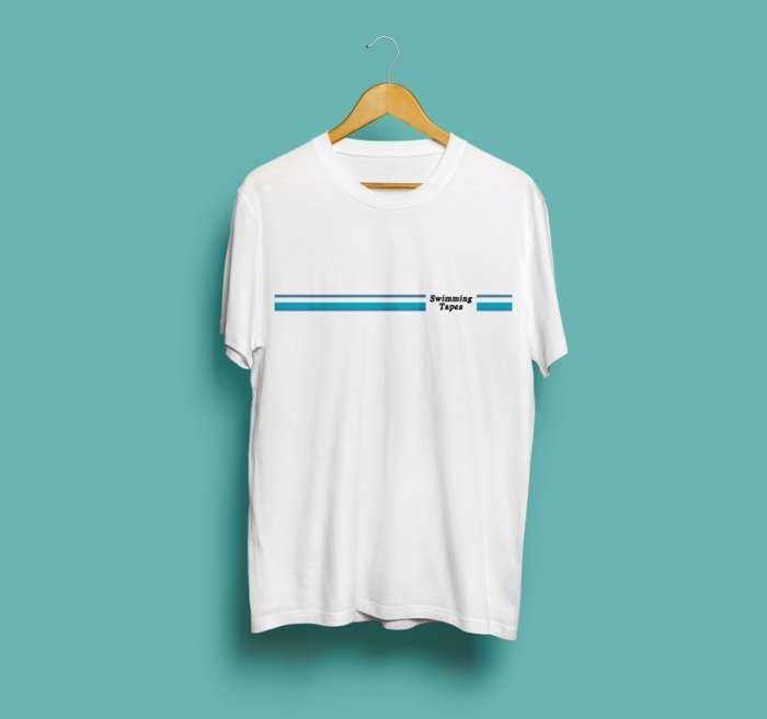 Swimming Tapes - Morningside Tee (Blue) - Hand In Hive