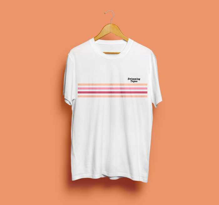 Swimming Tapes - Morningside Tee (Orange) - Hand In Hive