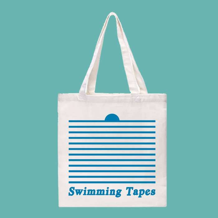 Swimming Tapes - Tote Bag - Hand In Hive