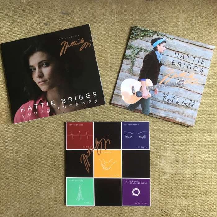 3 CDs SIGNED BUNDLE - Hattie Briggs