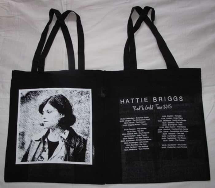 Red & Gold Tour Bag - Hattie Briggs