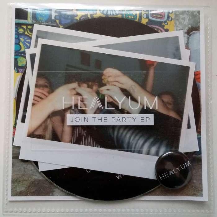 Healyum - Join The Party EP - healyum