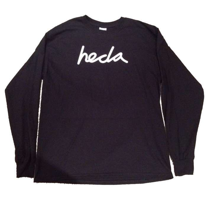 Signature Long Sleeve T - BLACK - Hecla Clothing
