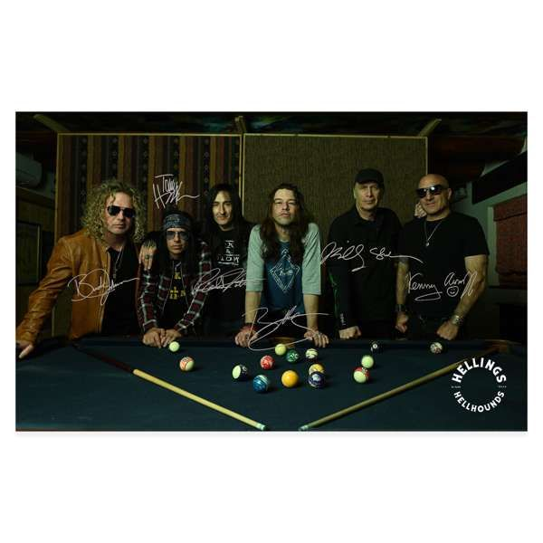"""Hellings Hellhounds 18"""" X 24"""" Signed Poster - Hellings"""