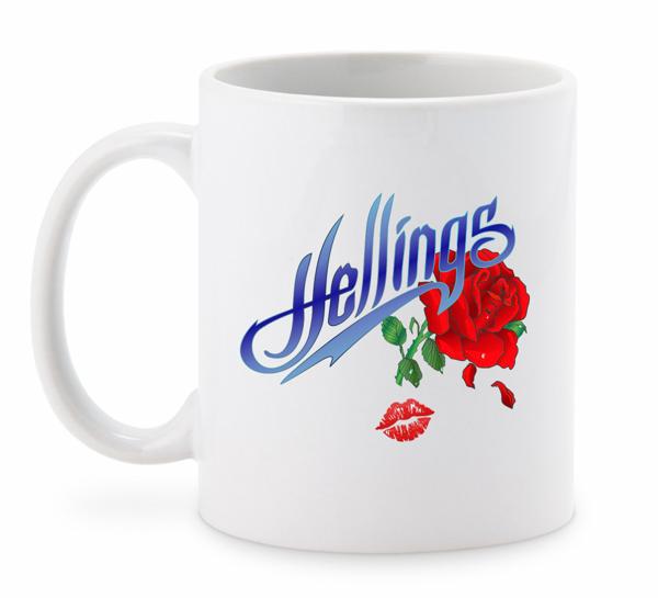 Hellings Rose Coffee Mug - Hellings