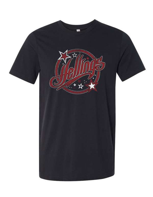 Hellings Unisex Circle Logo T-Shirt - DTG - Hellings