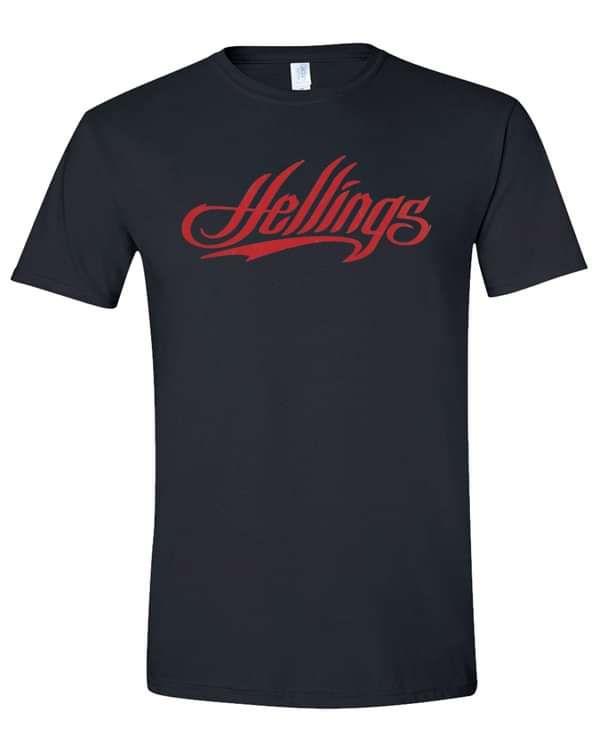 Hellings Unisex Vintage Logo T-shirt DTG - Hellings