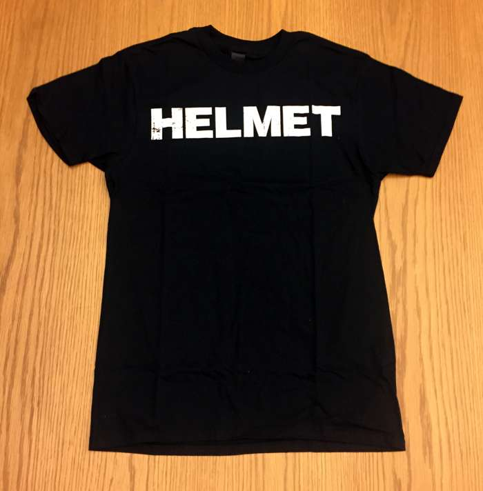 Distressed HELMET Logo Tee - Helmet