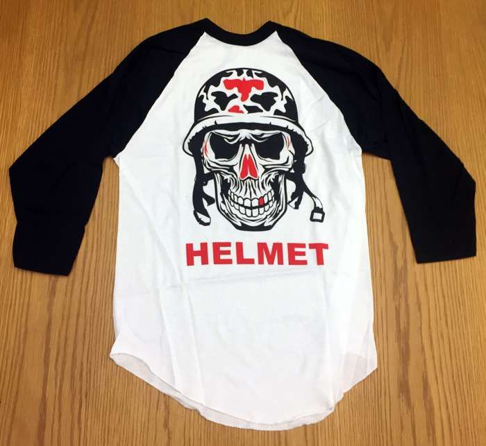 General Baseball Tee - Helmet