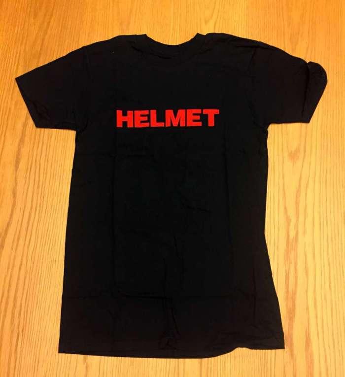 Logo Tee - Black - Helmet