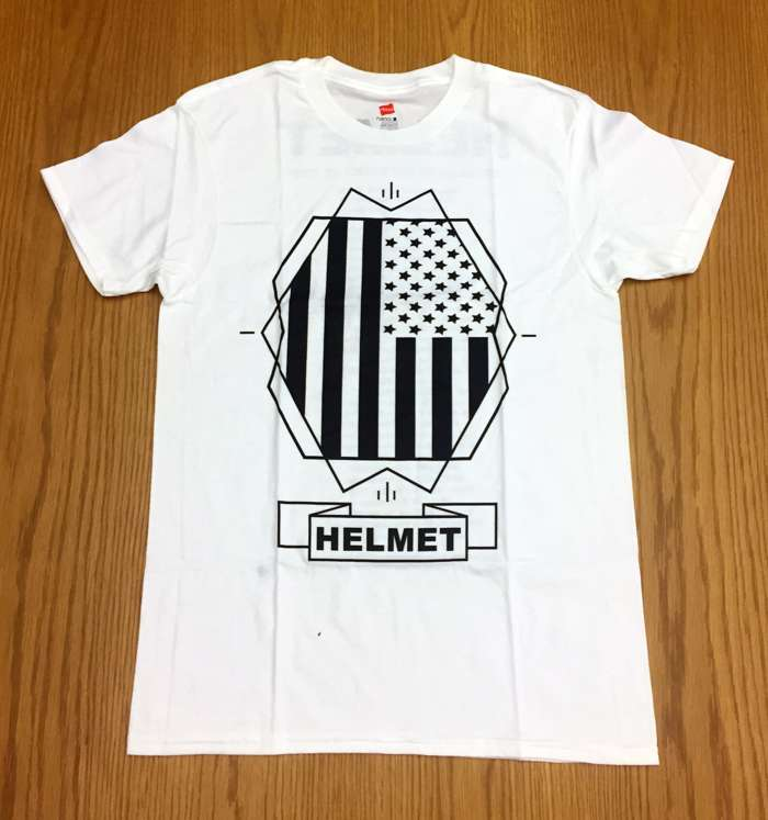 White Flag Tour Tee - Helmet
