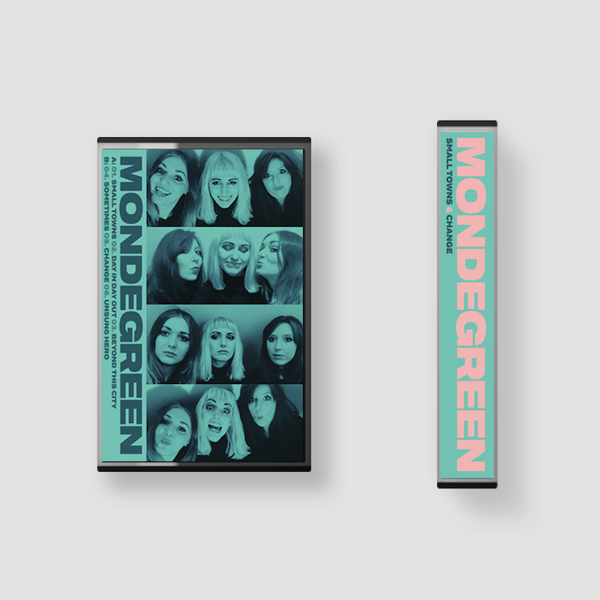Small Towns / Change Double EP Cassette - Mondegreen