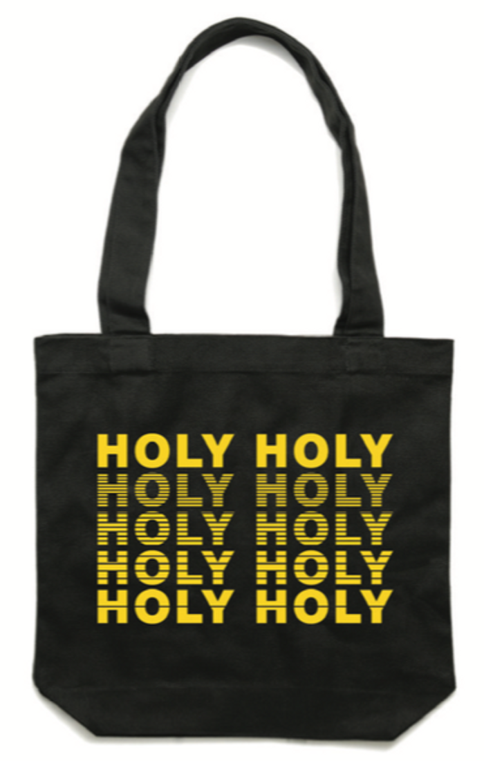 Tote Bag - Black - Holy Holy